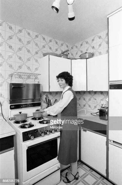 The kitchen of Mr and Mrs Singleton of Croydon 6th May 1982