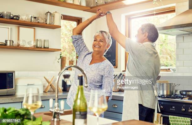 the kitchen was made for dancing - couples making passionate love stock pictures, royalty-free photos & images