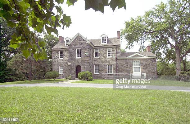 The Klingle mansion, one of the stops of investigators searching for evidence leading to whereabouts of missing Washington intern Chandra Levy.