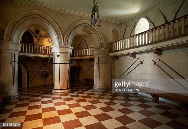 The Knights' hall Bojnice castle Slovakia 12th19th century