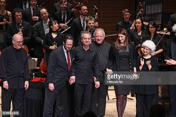 The Knights led by Robert Spano performing The Classical Style at Zankel Hall on Thursday night December 4 2014This imageCurtain call from left...