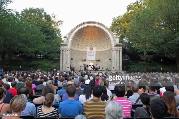 The Knights performing at Naumburg Bandshell at Central Park on Tuesday night July 22 2014