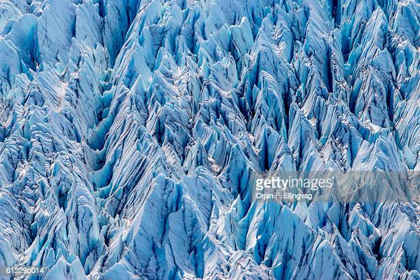 The Knik Glacier in Alaska Lack of snowcover expose the ash fallout from the nearby Redoubt Volcano reducing the albedo effect There are thousands of...