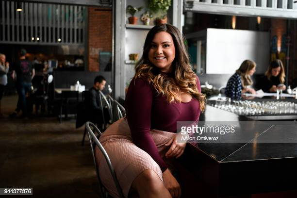 The Know editor Sara Grant poses for a portrait at Comida inside of the Source on Thursday February 15 2018 Grant was recently named to Editor...