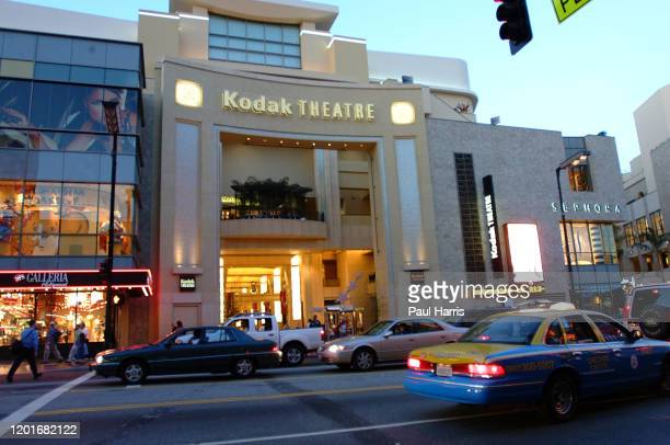 The Kodak Theatre and venue for the 74th Oscars on Hollywood Boulevard March 24 2002. The Oscars are to be held in Hollywood for the first time in...
