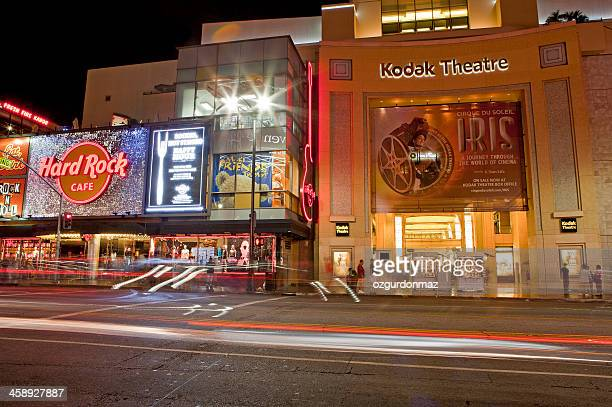 the kodak theatre hollywood - hollywood boulevard stock pictures, royalty-free photos & images