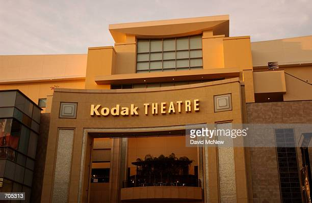 The Kodak Theatre in the new Hollywood Highland complex March 6 2002 in Hollywood CA will be the new home of the 74th Academy Awards presentations...