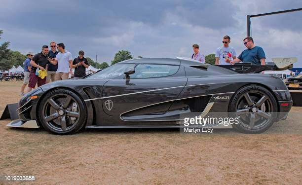 The Koenigsegg Agera Vader Displayed at Goodwood Festival of Speed in 2018 This car is one of just two final edition cars built by koenigsegg To mark...