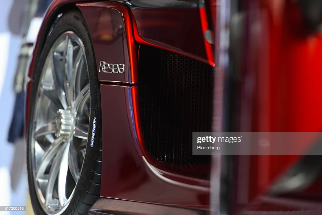 The Koenigsegg Automotive AB Regera luxury vehicle is displayed during the 2016 New York International Auto Show in New York, U.S., on Thursday, March 24, 2016. Koenigsegg showed its $2 million Regera 'hypercar' for the first time ever in the United States. Photographer: Ron Antonelli/Bloomberg via Getty Images