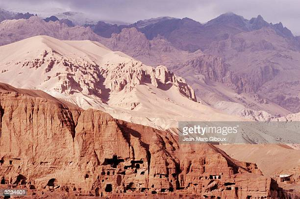 The Kohebaba mountains surround the Bamiyan Valley in Afghanistan November 23 2003 The harsh environment of the Bamiyan province remains one of the...