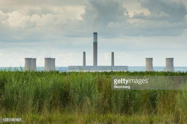 The Komati coal-fired power station, operated by Eskom Holdings SOC Ltd., in Mpumalanga, South Africa, on Tuesday, Jan. 12, 2021. In South Africa,...