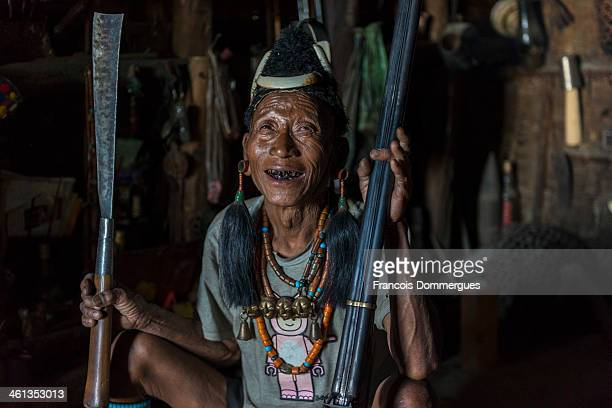 CONTENT] The Konyak tribe were famous headhunters until this practice was banned at the end of 1960s Facial tattoos were the attributes of warriors...