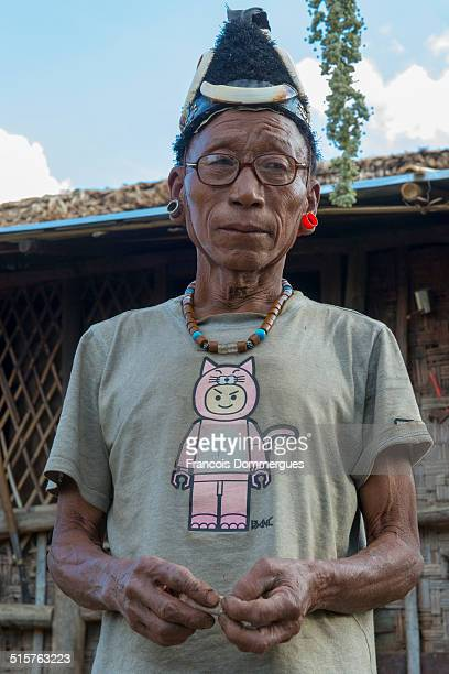 The Konyak tribe were famous headhunters until this practice was banned at the end of 1960s Facial tattoos were the attributes of warriors as well as...