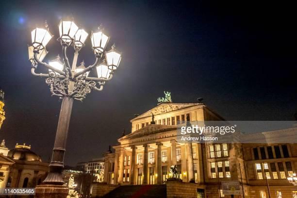 The Konzerthaus at the Gendarmenmarkt on March 22, 2019 in Berlin, Germany.