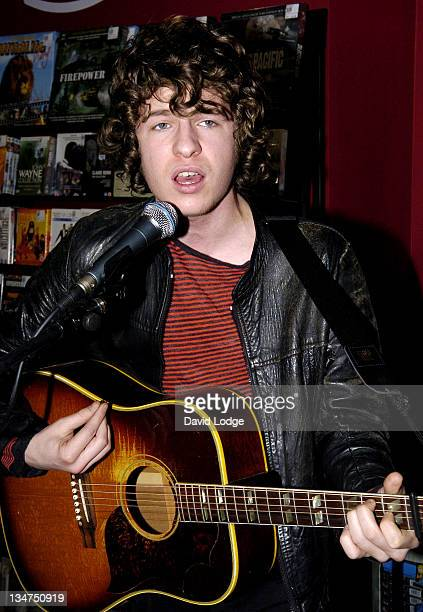 The Kooks during The Kooks InStore Performance and Signing of New Album 'Inside In/Inside Out' at Fopp in London March 27 2006 at Fopp in London...