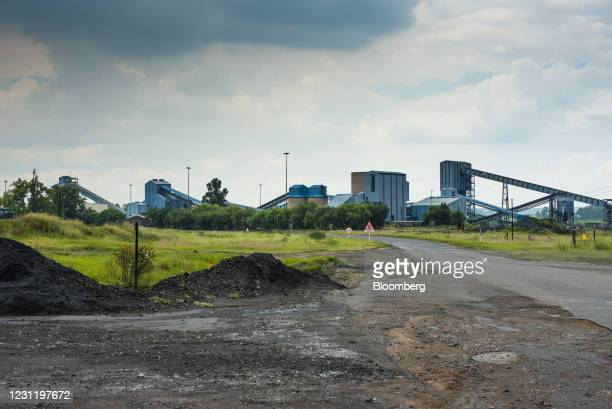 The Koornfontein mine, owned by Black Royalty Minerals Pty Ltd., in Mpumalanga, South Africa, on Tuesday, Jan. 12, 2021. In South Africa, for...
