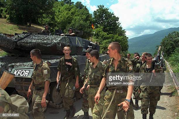 The Kosovo Force is a NATOled international peacekeeping force responsible for establishing a secure environment in Kosovo