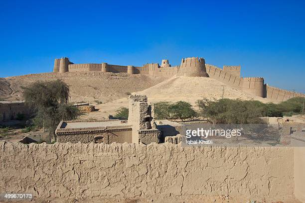 The Kot Diji Fort, formally known as Fort Ahmadabad, dominates the town of Kot Diji in Khairpur District, Pakistan about 25 miles east of the Indus...