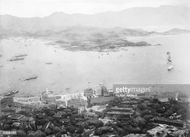 The Kowloon Peninsula from Hong Kong