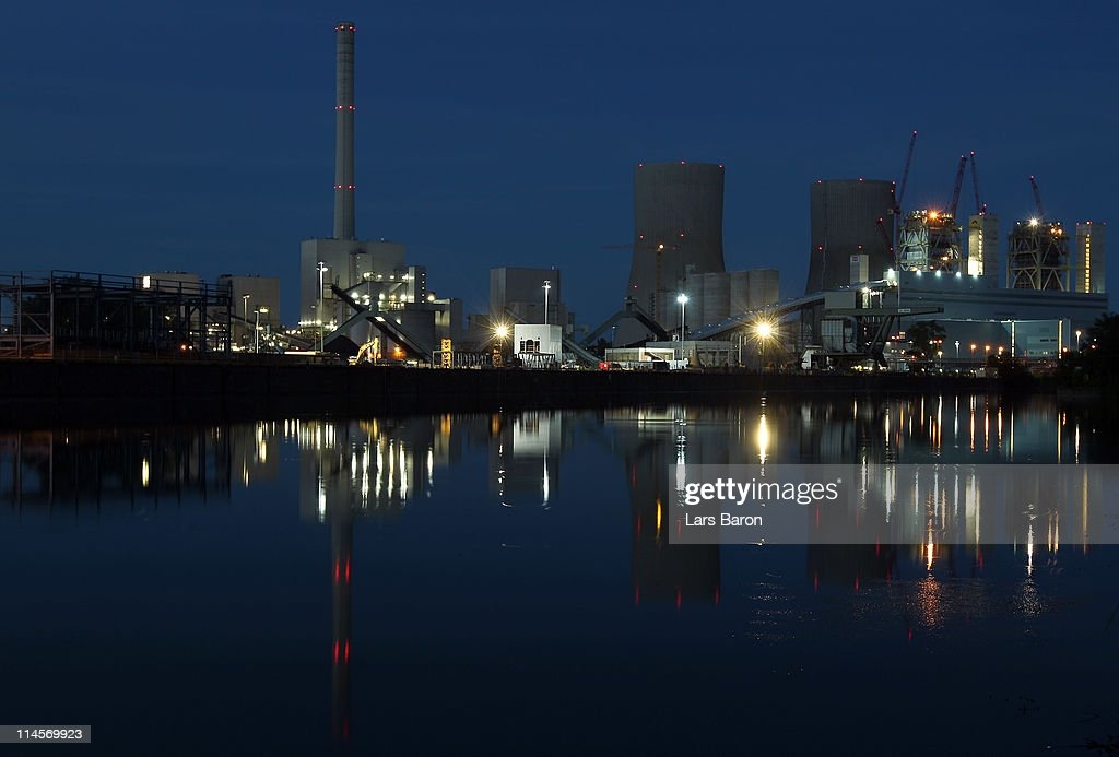 The Kraftwerk Westfallen coal-burning power plant stands illuminated on May 23, 2011 in Hamm, Germany. The plant, operated by German utilities giant RWE Power AG, was originally built in the 1970s, though two new additions under construction as part of a modernization effort will increase the plant's output by 1,600 Megawatts for a total capacity of 1,884 Megawatts. The future of Germany's energy supply is currently a hot topic of political controversy. The government has pledged to hasten the country's withdrawal from nuclear energy and pledged support for renewable energy sources, including solar parks, wind turbine farms and biomass projects, yet burning coal is and will remain the main means of electricity production for at least many decades to come.