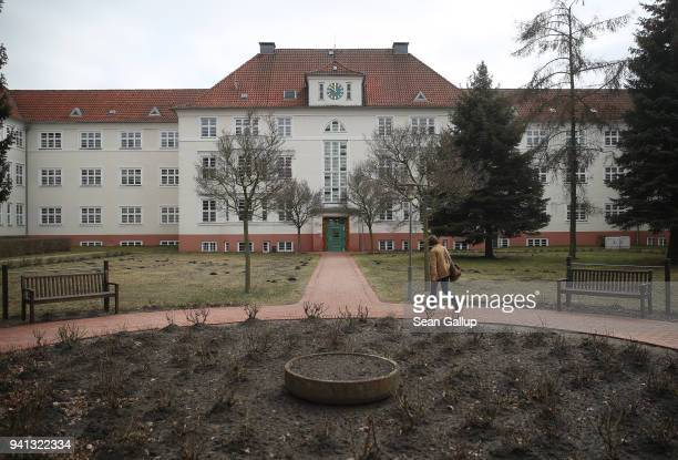The Krankenhaus Prenzlau hospital stands on April 3 2018 in Prenzlau Germany Dr Janusz Rudzinski says he performs an average of 15 to 20 abortions at...