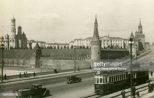 The Kremlin, Moscow, Russia, circa 1939.