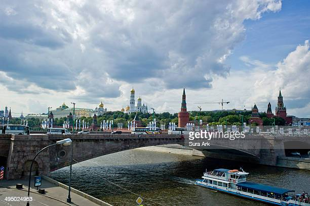The Kremlin of Moscow, which according to chronicles dates from 1156, contains an ensemble of monuments of outstanding quality. Ever since the...