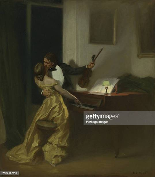 The Kreutzer Sonata, 1901. Private Collection. Artist : Prinet .
