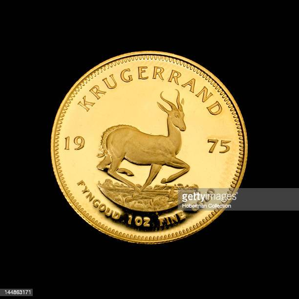 The Krugerrand - Famous South African Gold Coin, 1975