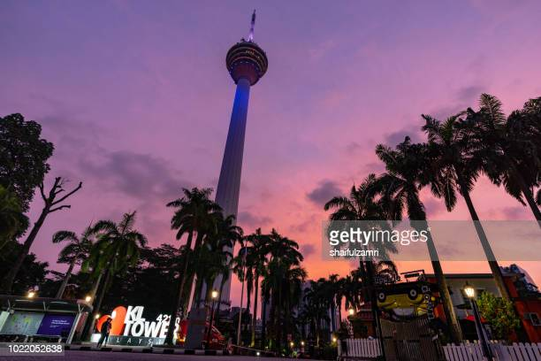 The Kuala Lumpur Tower is a communications tower located in Kuala Lumpur, Malaysia. Its construction was completed on 1 March 1995.