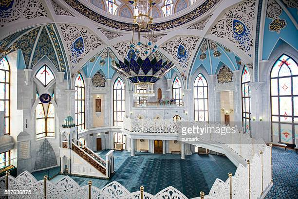the kul sharif mosque in kazan kremlin, kazan - kul sharif mosque stock pictures, royalty-free photos & images
