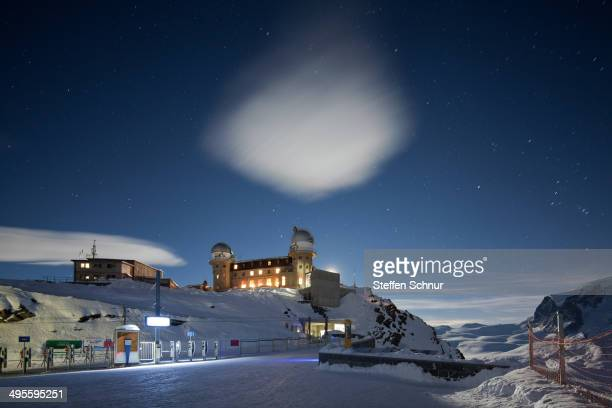 The Kulmhotel Gornergrat is situated at 10,000 feet above sea Level - making it the highest hotel in the Swiss Alps. The domes provided a vantage...