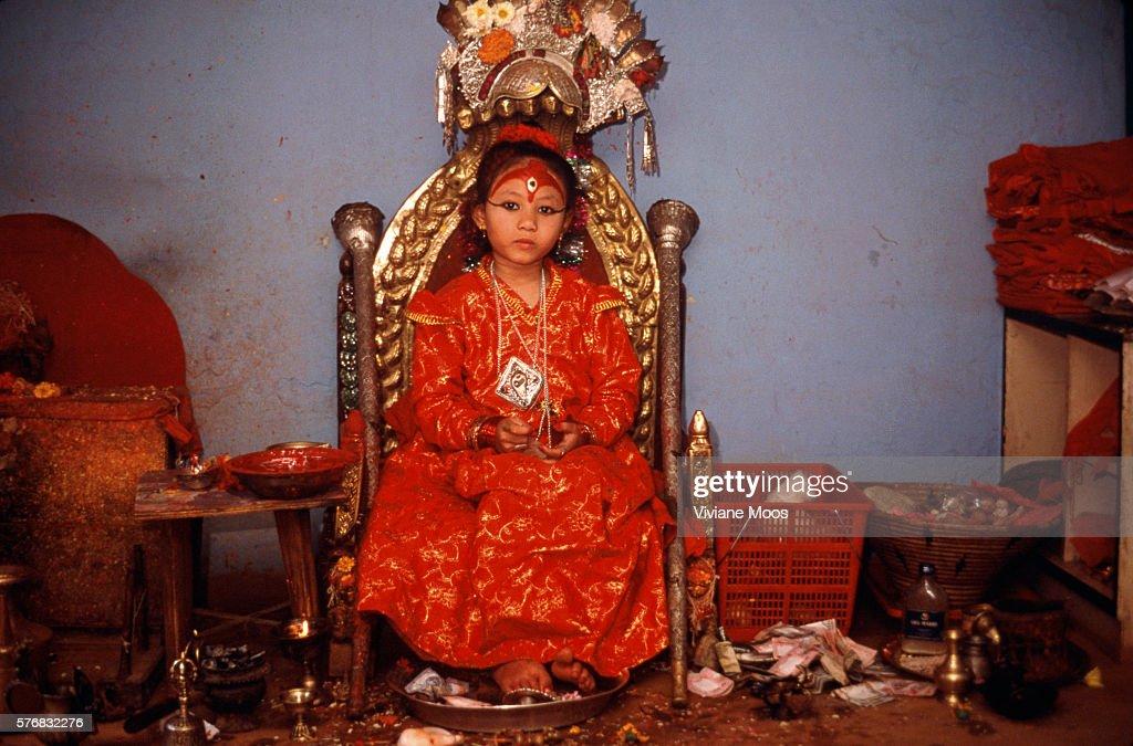 Kumari Devi Chandira : Foto jornalística
