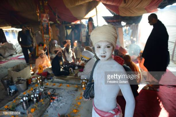 The Kumbh Mela is a mass Hindu pilgrimage of faith in which Hindus gather to bathe in a sacred river at the confluence of the Ganges the Yamuna and...