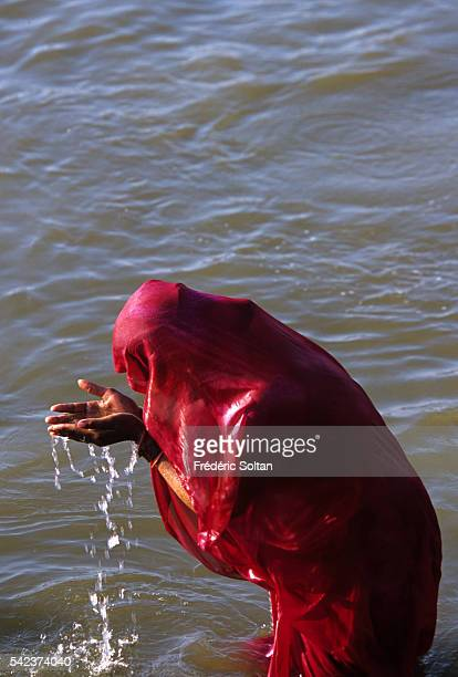 The Kumbh Mela of Allahabad takes place once every twelve years at the confluence of three holy rivers the Ganga the Yamuna and the mythical and...