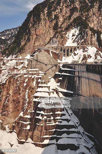 The Kurobe dam, Japan
