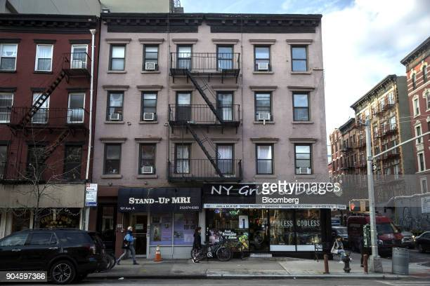 The Kushner Cos 191 Avenue A apartment building stands in the East Village neighborhood of New York US on Sunday Dec 10 2017 Kushner Cos has a stake...