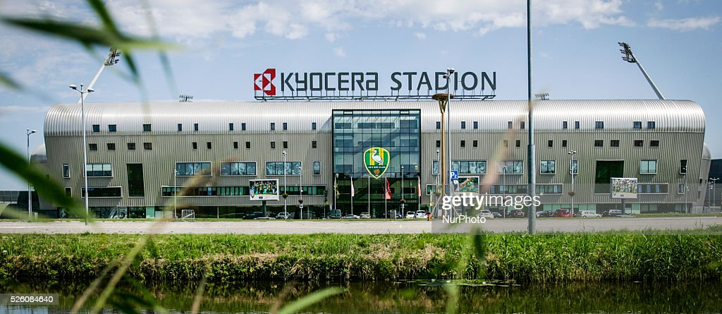 ADO Den Haag Kyocera Stadium : News Photo