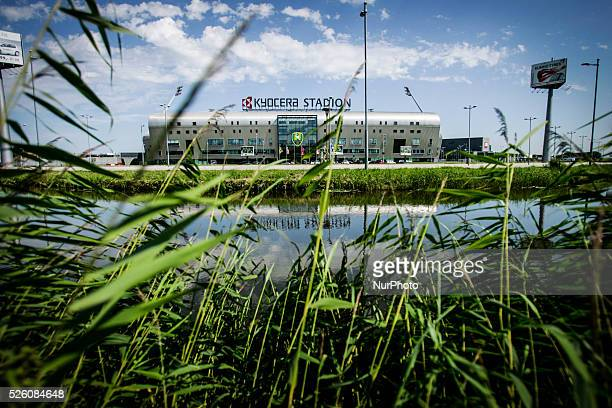 THE HAGUE The Kyocera stadium home of ADO Den Haag football club is seen on Friday August 7th 2015 Fans of the club will be marching in the hundreds...