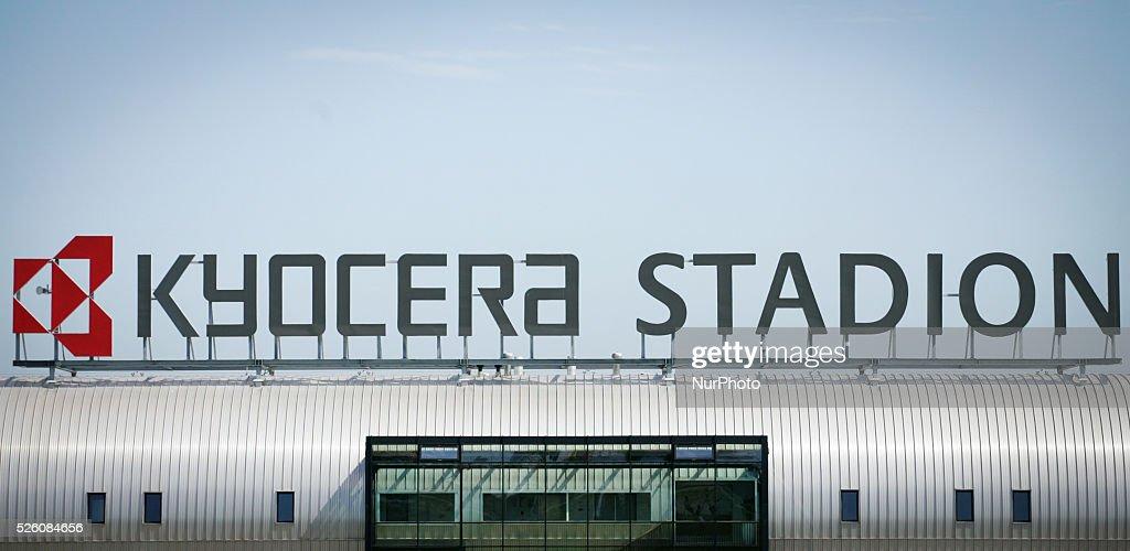 ADO Den Haag Kyocera Stadium : News Photo