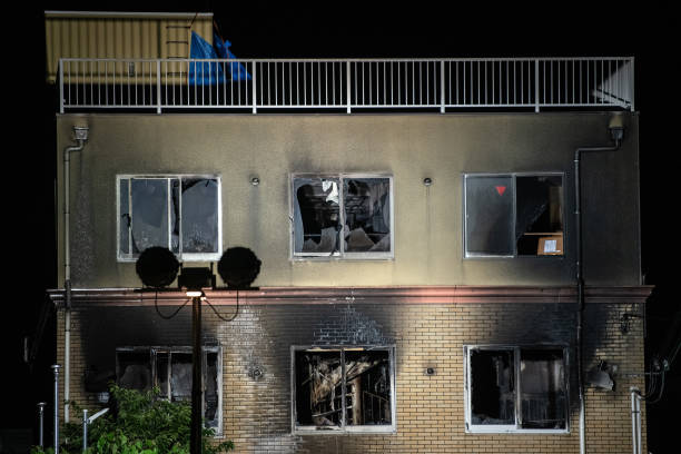 JPN: Arson Attack On Kyoto Animation Studio