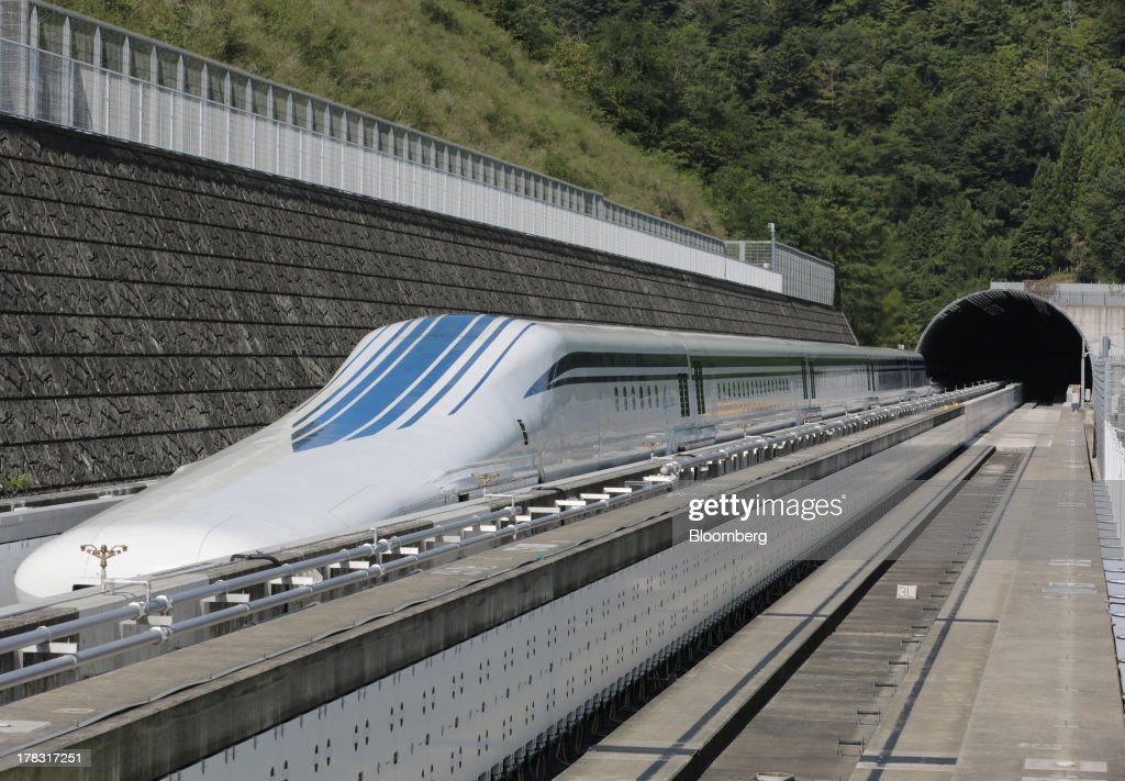 World's Fastest Train Resumes Trials As Japan Plans Maglev Line : News Photo