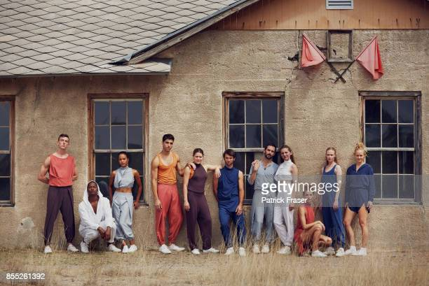 The LA Dance Project is photographed for Self Assignment on May 31 2017 in Marfa Texas