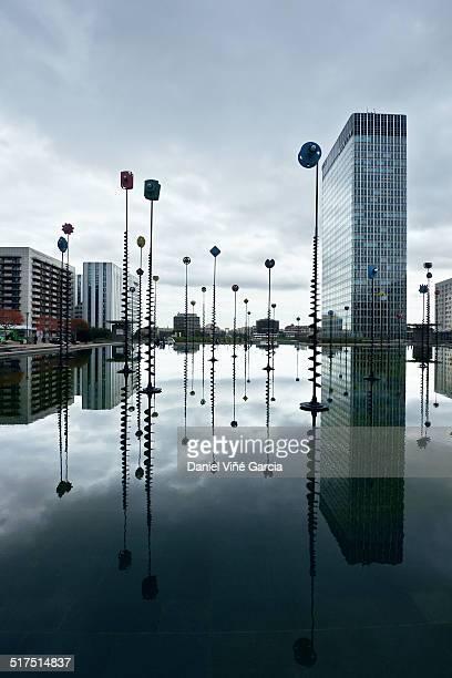 The La Defense business district of Paris