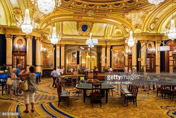The La Salle Europe Room Inside Monte Carlo Casino In Monaco