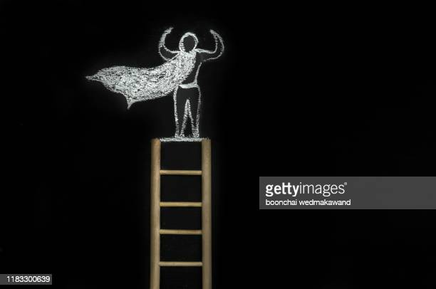 the ladder of thought and success - possible stock pictures, royalty-free photos & images