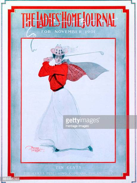 The Ladies Home Journal magazine cover November 1901 Published by the Curtis Publishing Company New York
