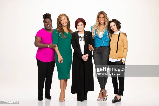 The ladies of The Talk on the CBS Television Network From left Sheryl Underwood Carrie Ann Inaba Sharon Osbourne Eve and Sara Gilbert shown