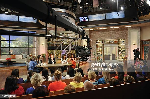 The ladies of The Talk Wednesday November 26 2014 on the CBS Television Network From left Sheryl Underwood Sara Gilbert Sharon Osbourne Aisha Tyler...