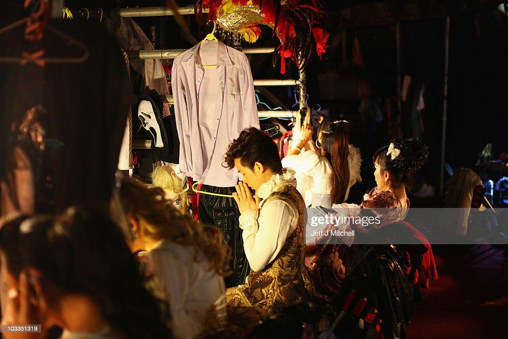 The Ladyboys Of Bangkok Perform At Edinburgh Festival : News Photo